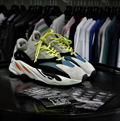 Adidas Yeezy Wave Runner 700 'Solid Grey' - Pronta Entrega
