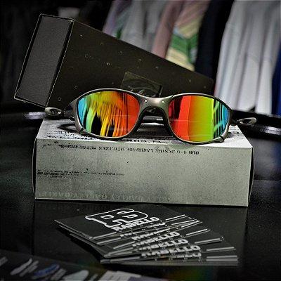 Óculos Oakley Double X 'Arco Iris' - Custom