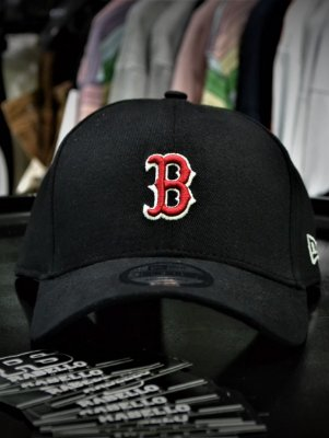 Boné New Era Boston Red Preto