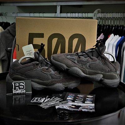 Adidas Yezzy 500 'Utility Black' Pronta Entrega