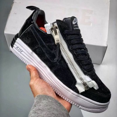 Nike Lunar Force 1 Low Acronym 'Black White' - ENCOMENDA