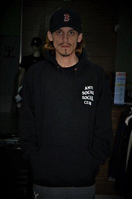 Agasalho Moletom Anti Social Social Club - Preto