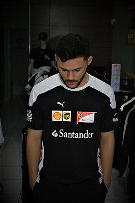 Camiseta Puma Ferrari 'Santander' - Preta