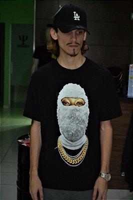 Camiseta 'Mask off' Preta