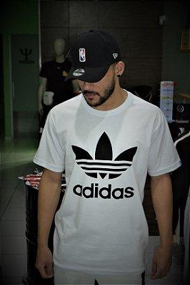 Camiseta Adidas Originals Logo Branca