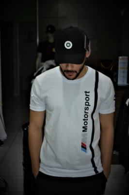 Camiseta Puma BMW Motorsport - Branco