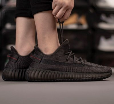 Adidas Yeezy 350 Boost V2 'Black none Reflective' - ENCOMENDA