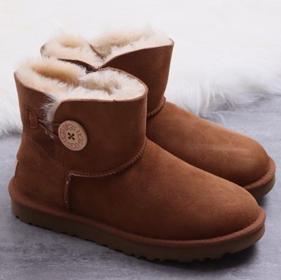 UGG Mini Bailey Button II 'CHESTNUT' - ENCOMENDA