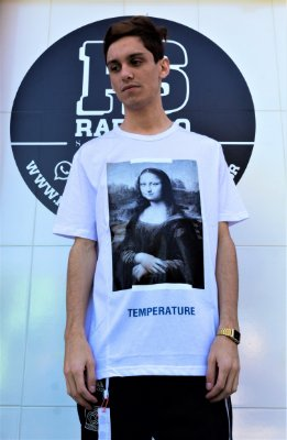 Camiseta Off-White 'Mona Lisa' Branca