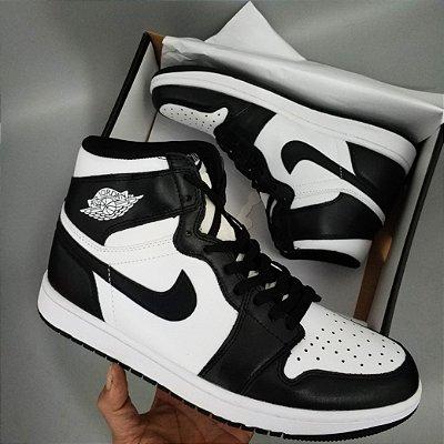 Nike Air Jordan 1 Retro Preto/Branco PK - ENCOMENDA