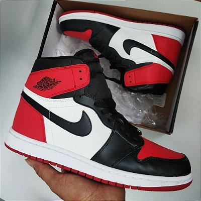 Nike Air Jordan 1 Retro 'Bred Toe' PK - ENCOMENDA