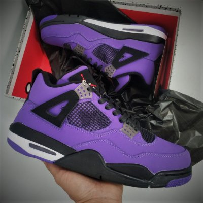 Nike Air Jordan 4 Retro Travis Scott Purple (Friends and Family) - ENCOMENDA