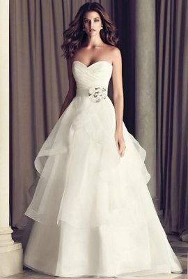 Vestido de noiva Organza Size