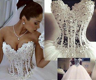 Vestido de noiva Lux Intense