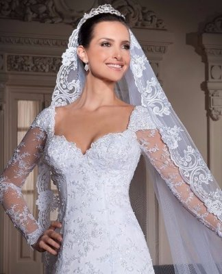 Vestido de noiva Puff Luxury