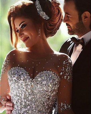 Vestido de noiva Lux Sheer