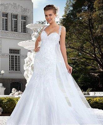 Vestido de noiva Sexy Mariage