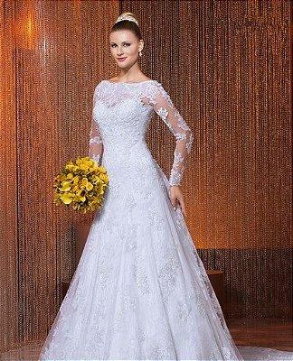 Vestido de noiva Line Dress