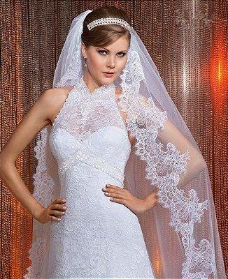 Vestido de noiva Marfim Luxe