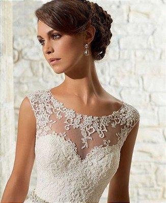 Vestido de noiva Lace Above