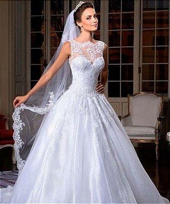 Vestido de noiva Crystal Luxe