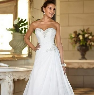 Vestido de noiva Elegance Simple