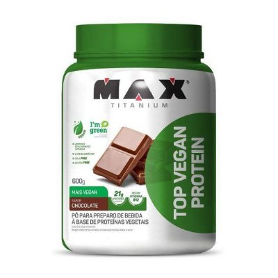 Top Vegan Protein (600g) - Max Titanium