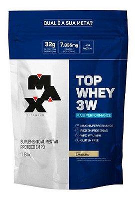 Top Whey 3W (1,8Kg) Max Titanium