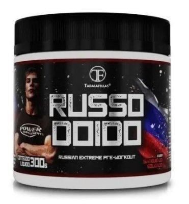 Pré-Treino Russo Doido (300g) - Tadalafellas