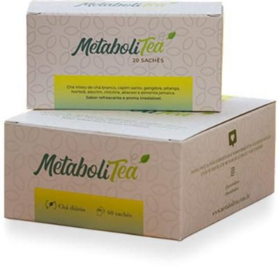 Chá Metabolitea - (20 sachês) - Leve Chá
