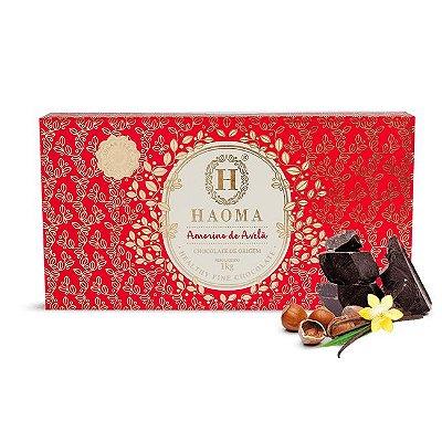 Barra de Chocolate ZERO açúcar sabor  Amorino De Avelã  (1kg) - HAOMA