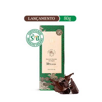Barra de Chocolate ZERO açúcar (80g) - HAOMA