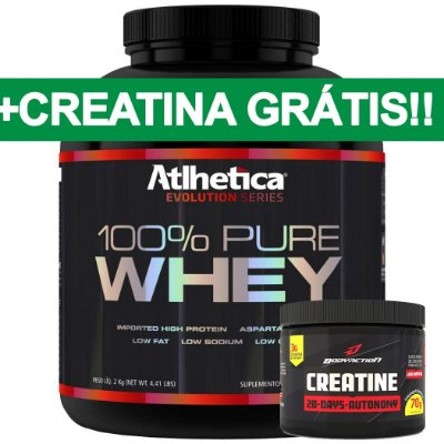 100% Pure Whey (2Kg) Atlhetica