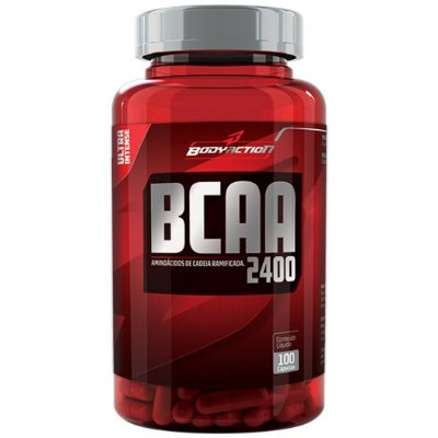 BCAA 2400 (100 caps) BodyAction