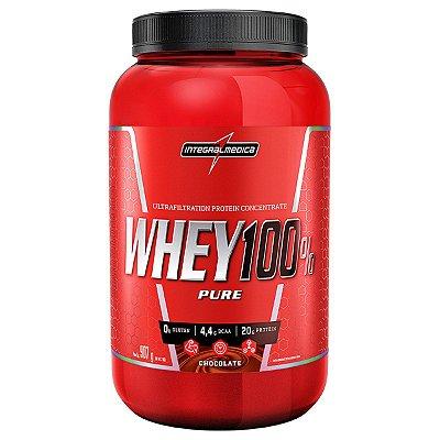Whey 100% Pure Pote (900g) Integral Medica