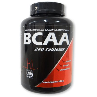BCAA (240 tabs) Health Labs