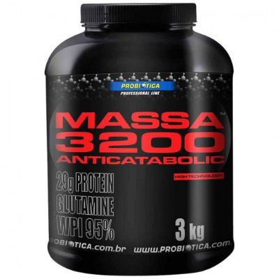 Massa 3200 Anticatabolic (3Kg) Probiótica