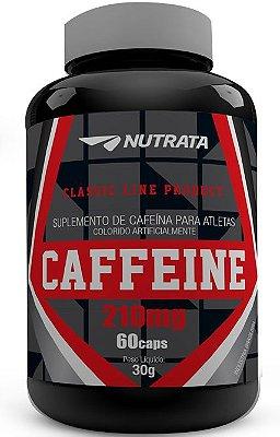 Caffeine 210mg (60 Caps) Nutrata