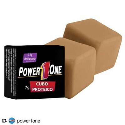 Cubo Proteico (1 Unidade) Power One