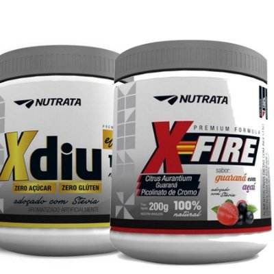 COMBO Emagrecedor (X-Fire + X-Diu) Nutrata