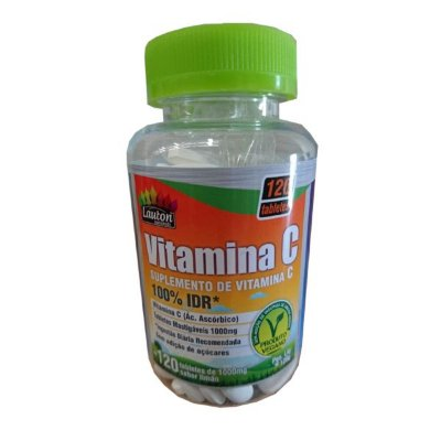 Vitamina C 1000Mg (60 Caps) Lauton