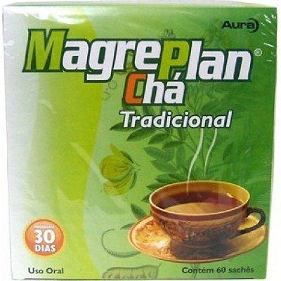 Magreplan Chá Tradicional (60 Sachês) Aura