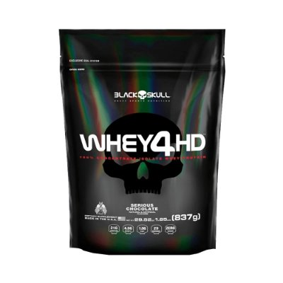Whey 4HD (1,85 lbs) Black Skull