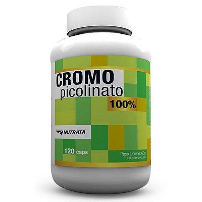 Picolinato de Cromo (120 Caps) Nutrata