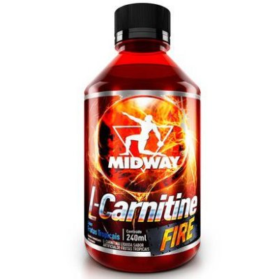 L-Carnitine Fire 1400Mg (480ml) Midway LEVE 2 PAGUE 1