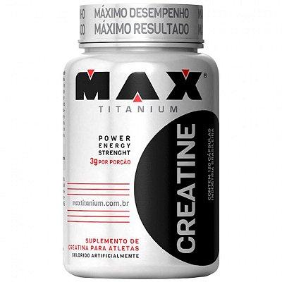 Creatina  (120 Caps) Max Titanium
