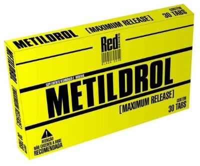 Metildrol (30 Tabs) Red Series
