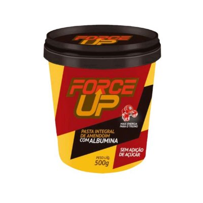 Pasta de Amendoim C/ Albumina (500g) Force Up