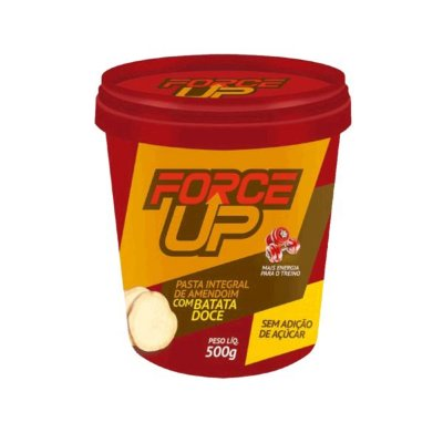 Pasta de Amendoim C/ Batata Doce (500g) Force Up