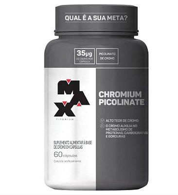 Picolinato de Cromo (60 Caps) Max Titanium